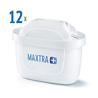 Brita Filterkartuschen MAXTRA + , Weiß, 12er Pack (B001T9N51M) | Amazon price tracker / tracking, Amazon price history charts, Amazon price watches, Amazon price drop alerts