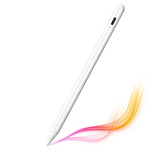 タッチペン iPad ペン KIMWOOD「2020年第3世代」スタイラスペン iPad 磁気吸着/傾き感知/誤作動防止機能対...
