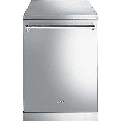 Lave vaisselle Smeg LVS43STXIN - Lave vaisselle 60 cm - Classe A+++ / 43 decibels - 13 couverts - Inox - Tiroir a couvert - Pose libre