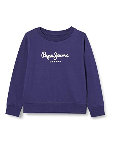 Pepe Jeans Jungen Pullover Winter Ronit, 571 scout blue, 164