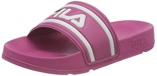 FILA Morro Bay kids Unisex-Kinder Slipper, Pink (Beetroot Purple), 32 EU