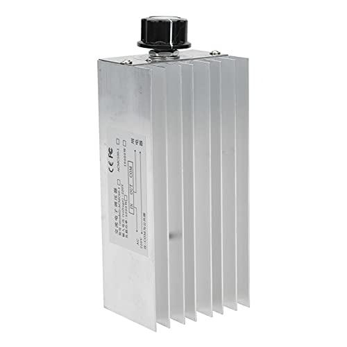Regulador de Voltaje SCR del regulador de Velocidad del Motor Regulador de Voltaje electrónico 10000W Regulador de Voltaje para Soldador eléctrico con disipador de Calor