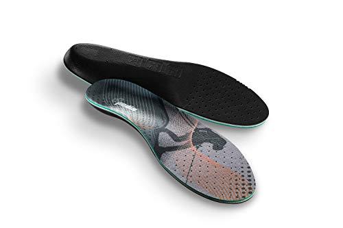 CLUB4BRANDS Plantillas Deportivas 'Absorción sudorípara' Plantillas de Zapatos - Suelas contra pies sudorosos y mal olor - varias tallas (XXL/EUR 46-47,5 / UK 11,5-12,5)