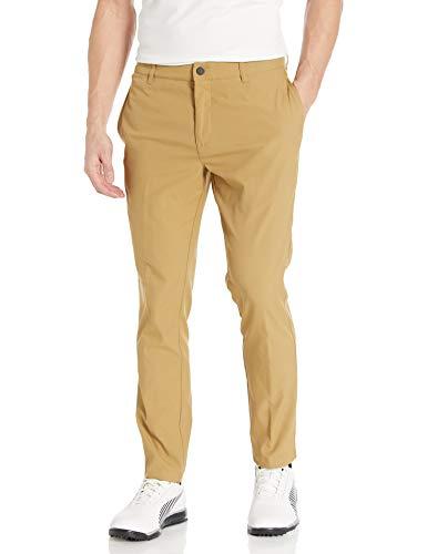 PUMA Golf 2019 Pantalones a Medida para Hombre, Hombre, Pantalones, 578720, Bronce Envejecido, 33W / 34L