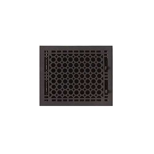 Signature Hardware 917438-8-10 Honeycomb Cast Iron Floor Register - 8' x 10' (9-1/4' x 11' Overall)