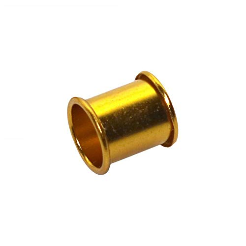 DH-Link 200pcs Aluminum Identification Poultry Leg Bands Pigeon Bird Rings 8mm (Gold)