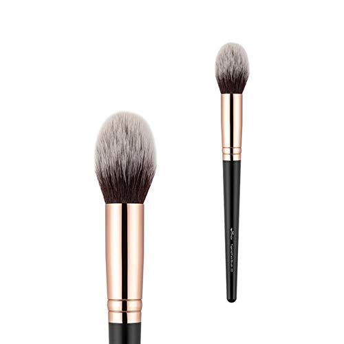 Make-up kwast Professionele make-up kwast Foundation Set Wenkbrauw Oogschaduw Cleaner Blending Zacht Synthetisch Haar Cosmetische Kit, 0112-013K