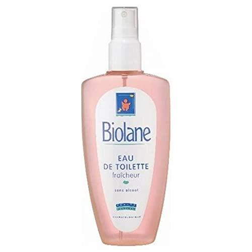 Biolane Spray Eau de Toilette Fraîcheur Sans Alccol 200ml (lot de 3)