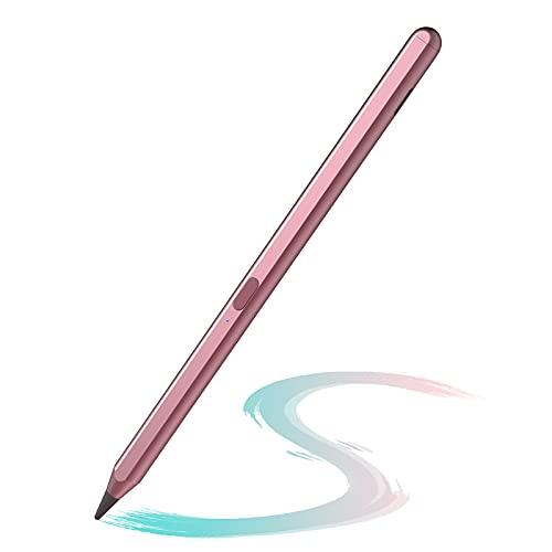 ANYQOO Stylus Penna per iPad 2018-2021,Penna Digitale Con Palmo Rejection iPad 8th Generation Air 4th 3rd, Mini 5th Gen,iPad 6 Gen & 7th 2019  iPad Pro 11 12.9 inch(Oro rosa)