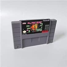 Game card Ms. Pac-Man - Action Game Card US Version English Language Game Cartridge SNES , Game Cartridge 16 Bit SNES