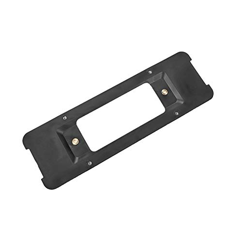XIAOYING Universal Rear License Plate Bracket for BMW Model Cars Mount Frame Tag Holder Base Rear License Plate Support