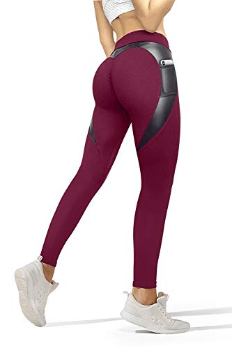 UYGA High Waisted Leggings for Women - Soft Athletic Tummy Control Pants for Running Cycling Yoga...
