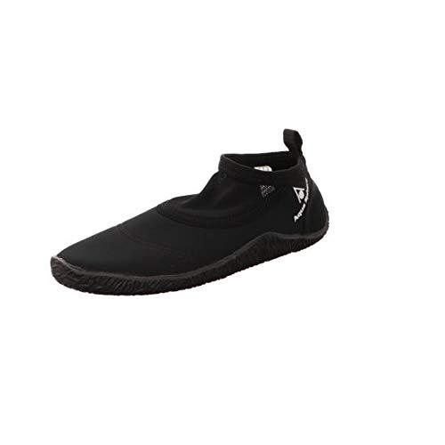 Aqua Sphere Unisex Beachwalker Neoprene Water/Beach Shoe, Black, Size 42/43