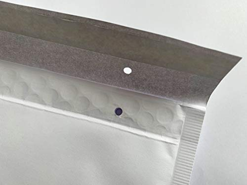 25 Enveloppes à bulles blanches pour enveloppes à bulles - 350 x 240 mm - Format A4 350 x 240 mm Blanc.