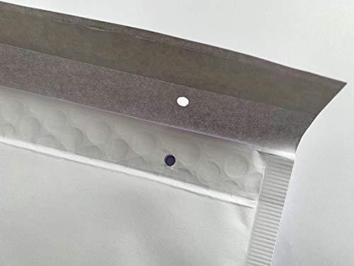 Enveloppes à bulles blanches pour enveloppes à bulles - 350 x 240 mm - Format A4 350 x 240 mm Blanc.