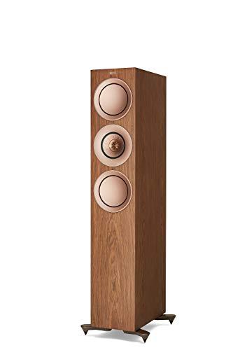 KEF R7 Floorstanding Speaker (Pair, Walnut) (R7WA)