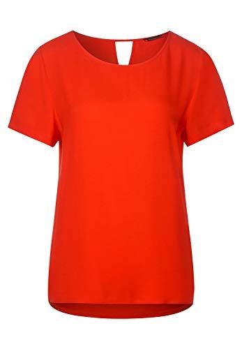 Street One Damen 315017 T-Shirt, Cheeky red, 42