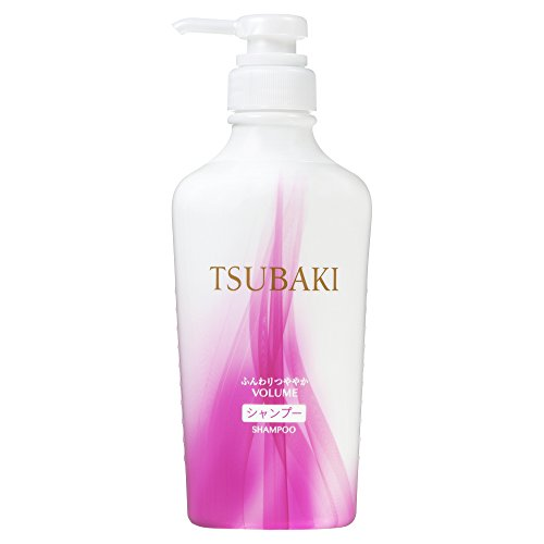 Tsubaki Shiseido shampooing Doux Brillant Non-Silicium 450mL