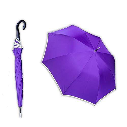 Sicherheitsschirm - mit gratis Videokurs | Unzerbrechlicher Abwehr Security Regenschirm für Frauen | Selbstverteidigung Selbstbehauptung | Kein langwieriges Training erforderlich