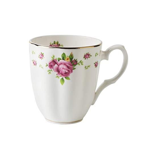 Bone China Tasse Haushalt Kaffeetasse große Kapazität Tasse Wasser Tasse Keramik Tasse