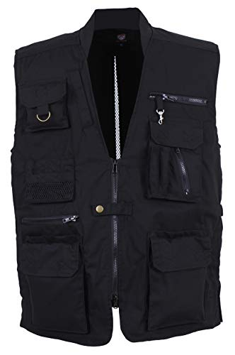 Plainclothes Concealed Carry Vest-Black-XX-Large