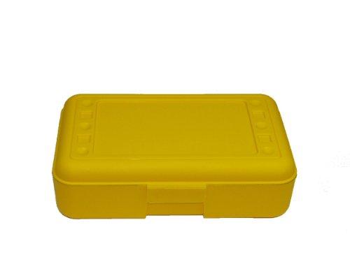 Romanoff Products Pencil Box, Yellow