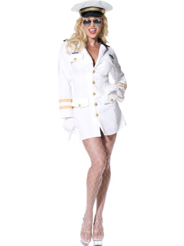 Top Gun White Officer Uniform for Women, Sizes 12 to 18 available