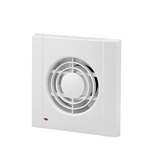 E084061 - Ventilador Extractor de Aire Silencioso de 75mm de diámetro para Oficina, Baño, Cocina,Dormitorio, bajo consumo de energía 13W, funcionamiento silencioso 40 dB y alta eficiencia 120 m3/h