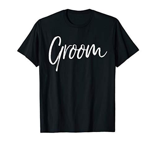 Matching Getting Ready Bride & Groom Wedding Gifts Groom T-Shirt
