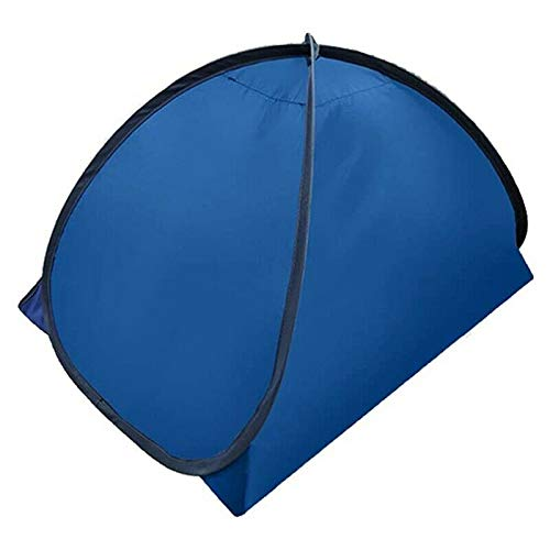 XXD-CC Head Sleep Tent, Heat Insulation Hood,Foldable Outdoor UV Tent As Sun Shelter for Children Family Picnic, Beach (Blue, S)