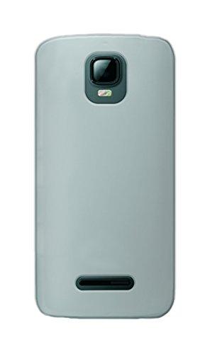 Phonix KA345GPW Gel Protection Plus Schutzhülle mit Bildschirmschutzfolie für Kazam Th&er 345 transparentes weiß