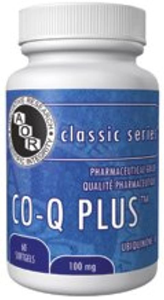 Co-Q10 100 mg (60 VeggieCaps) Brand: A.O.R Advanced Orthomolecular Research