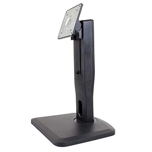 nixeus VESA höhenverstellbar LCD-Monitor Ständer mit Neigung, Drehgelenk, und Portrait Modus mit 100mmx100mm & 75mmx75mm VESA Bohrungen unterstützt PC Monitore bis 76,2cm