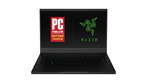 Razer Blade Stealth 13 Ultrabook Gaming Laptop: Intel Core i7-1065G7 4 Core, NVIDIA GeForce GTX 1650 Max-Q, 13.3' FHD 1080p 60Hz, 16GB RAM, 512GB SSD, CNC Aluminum, Chroma RGB, Thunderbolt 3, Black