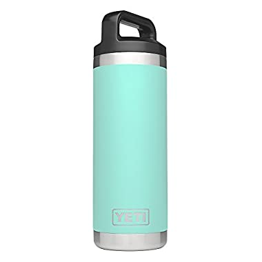 YETI Rambler 18oz Vacuum Insulated Stainless Steel Bottle with Cap, Seafoam DuraCoat