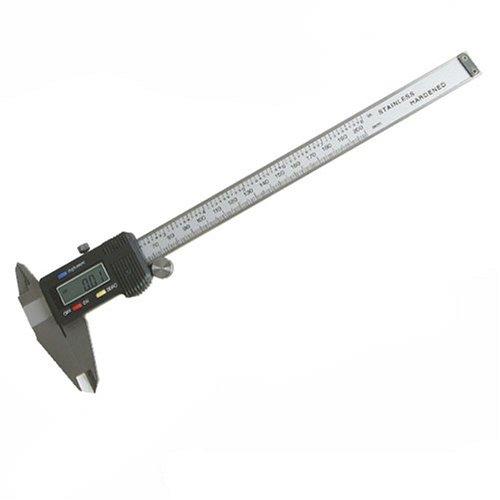Silverline 833626 - Calibre pie de rey digital (200 mm)