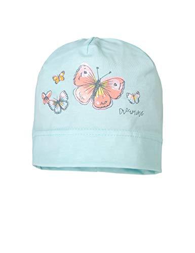 maximo Baby-Mädchen Jerseymütze Mütze, Türkis (Blue Tint 22), (Herstellergröße: 49/51)