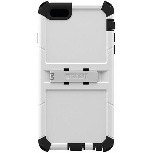 Trident Kraken A.M.S. Case for iPhone 6 Plus & iPhone 6s Plus White with Holster Belt Clip Kickstand KN-API655-WT000