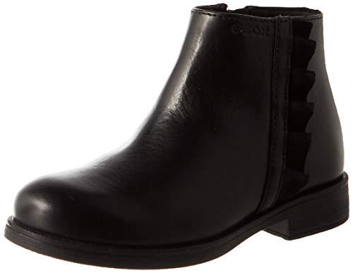Geox JR Agata D Ankle Boot, Black (Black), 36 EU