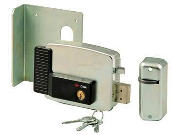 Cerradura eléctrica para Aplicar CISA Art. 11721Tamaño 60mm Hacia DX con tejado