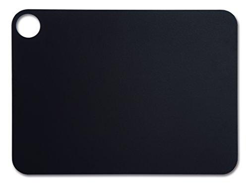 Arcos Tablas, Tabla de Cocina, Tabla para Cortar, Fibra de Celulosa y Resina 37, 7 x 27, 7 cm y 6, 5 mm de espesor, Color Negro