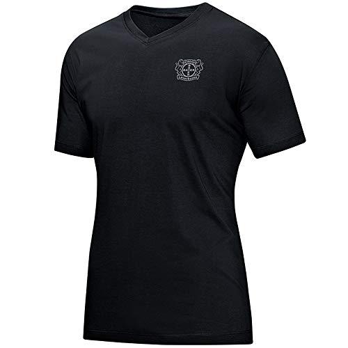 JAKO Damen Premium, (Saison 19/20) Bayer 04 Leverkusen T-Shirt, schwarz, 36