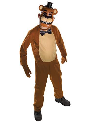 Rubie's Costume ufficiale da Freddy di Five Nights at Freddy's, da bambini, taglia L