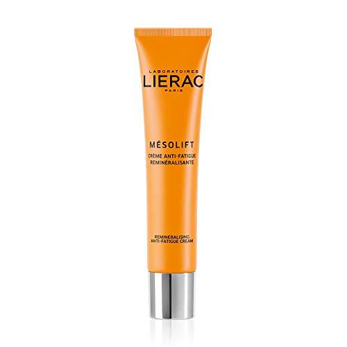 Lierac Mésolift Crema Anti Fatica Energizzante Viso, Con Vitamine E Acido Ialuronico, Per La Pelle Stressata E Spenta, 40 Millilitro