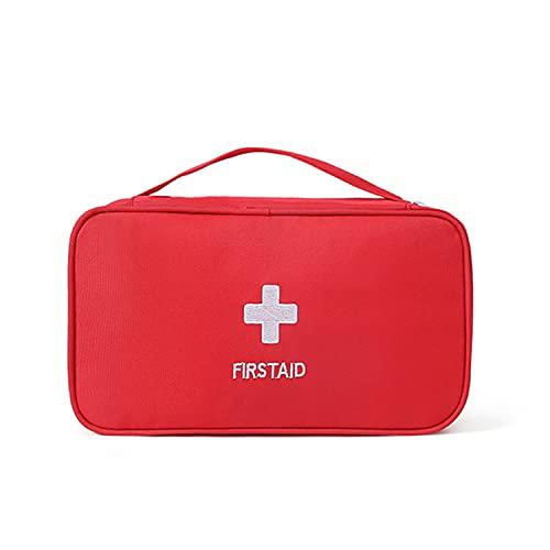 Kit de primeros auxilios de viaje portátil mini bolso médico bolso médico vacío bolsa de almacenamiento