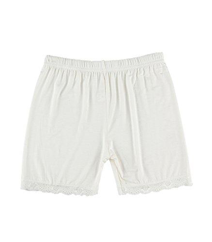 Liang Rou Damen Skinny Leggings weiß Medium
