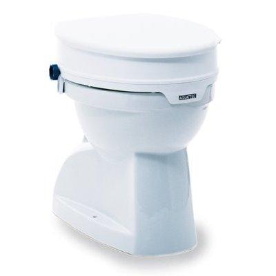 AQUATEC 90 Toilettensitz Erhöhung m. Deckel, Toilettenhilfen