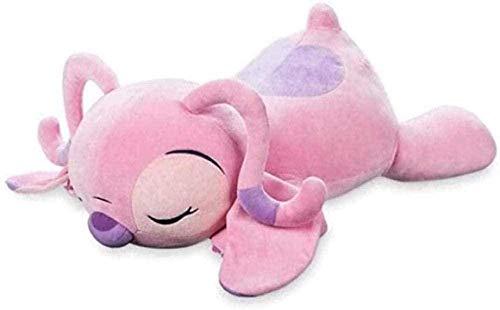 NC87 Soft Toys - 45cm Lilo and Stitch Cuddleez Big Lying Sleeping Angel Stuffed Animals Soft Pillow Leisure Toys