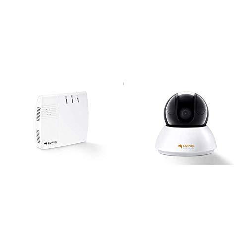 Lupus-Electronics XT2 Plus Zentrale, Smarthome Alarmanlage mit GSM Modul, APP Zugriff und größtem Zubehörsortiment & 720P HD WLAN WiFi IP Kamera LE203, Sicherheitskamera, Überwachungskamera, IP Cam