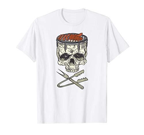 Herren BBQ Barbecue Grill Köche Smoker-Grills Griller grillen T-Shirt
